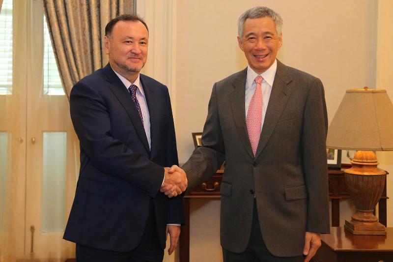 Kazakhstan, Singapore strengthen inter-party relations