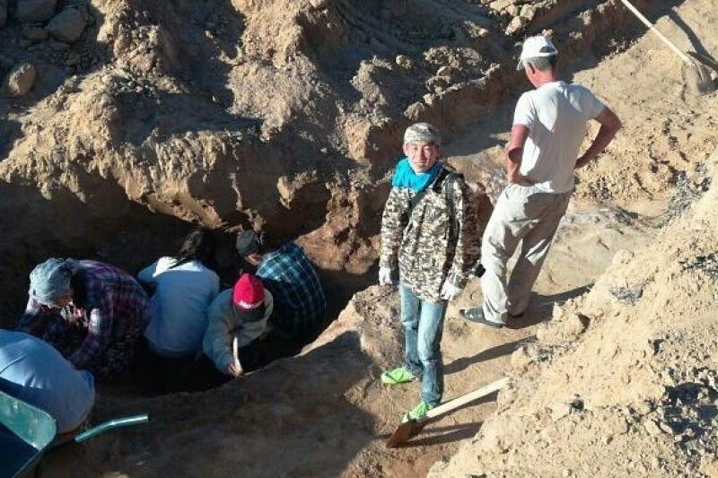 Атырауские отряды «Жасыл ел» участвуют в археологических раскопках