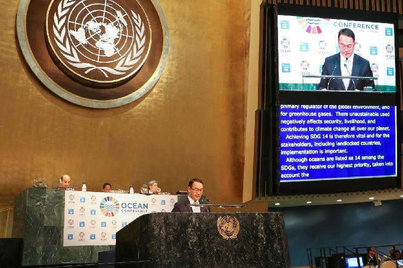 К проблемам Арала и Каспия привлек внимание Казахстан на конференции в Нью-Йорке