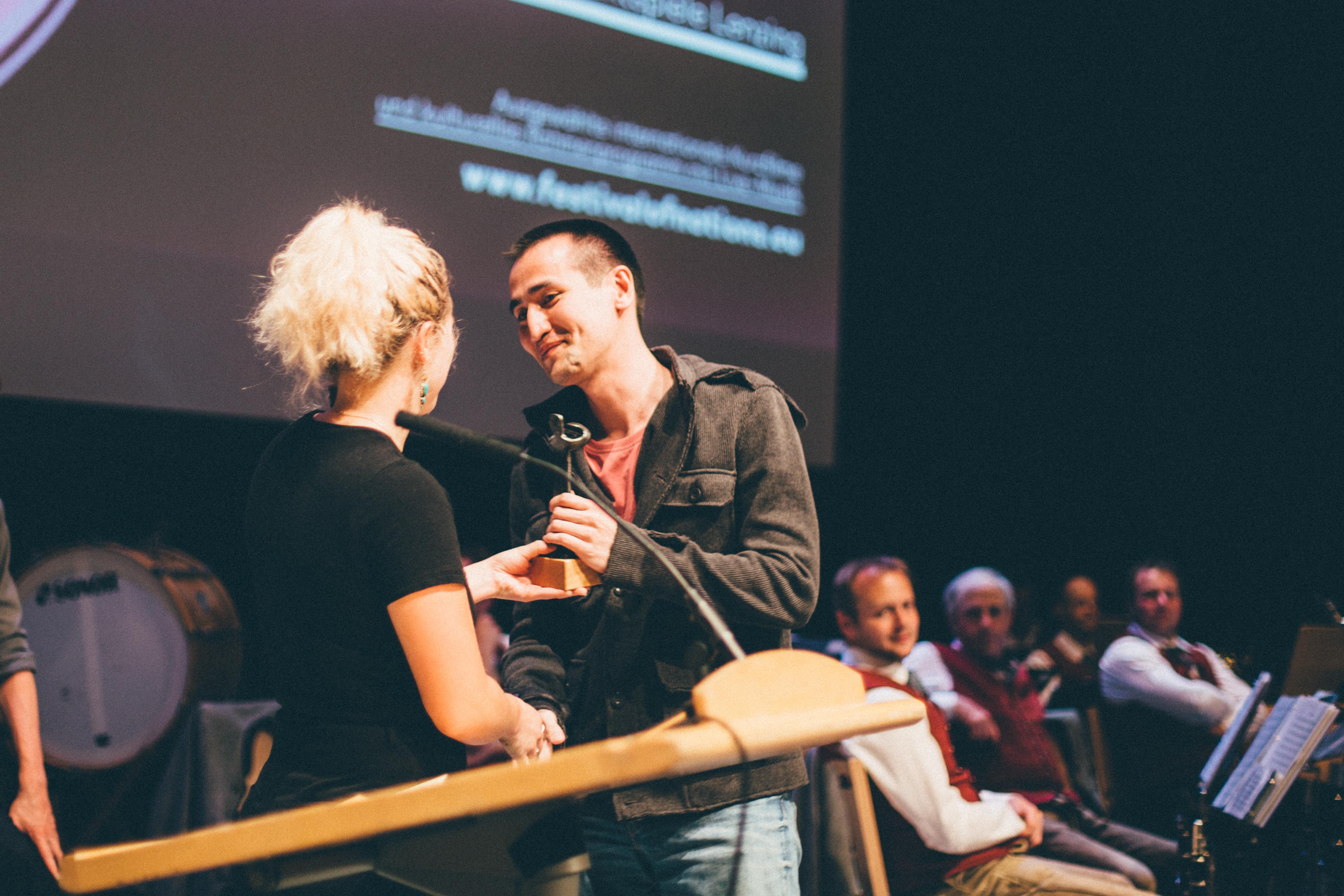 Қазақстандық режиссердің фильмі Австриядағы кинофестиваль жүлдесіне ие болды
