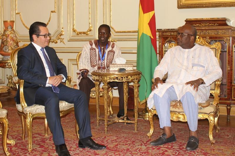 布基纳法索总统确认出席伊斯兰合作组织峰会