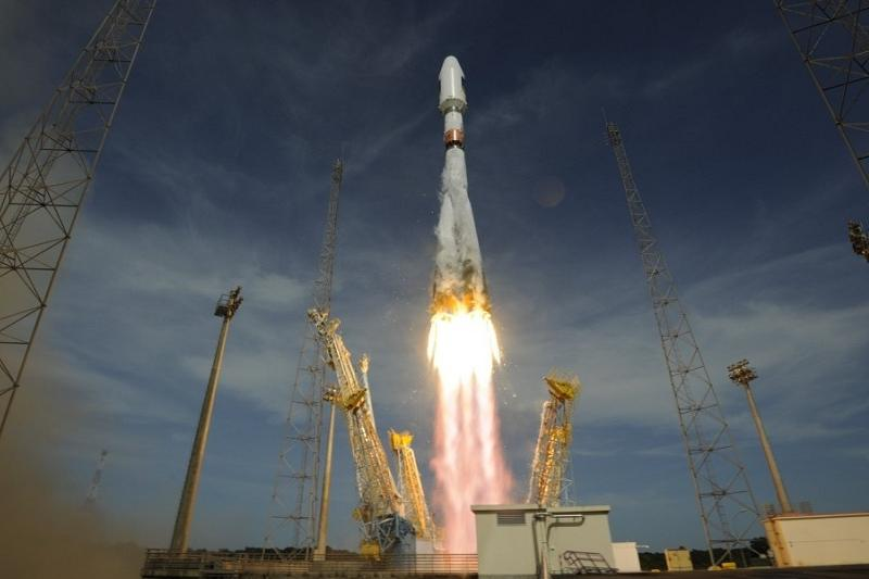 В Казкосмосе прокомментировали пожар при падении частей ракеты-носителя