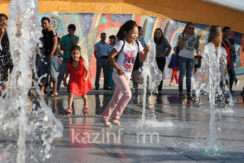 Жаркую без осадков погоду прогнозируют синоптики в Казахстане