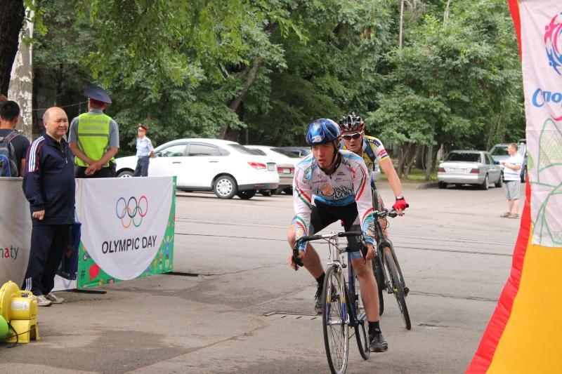 Международный Олимпийский день отметили в Алматы