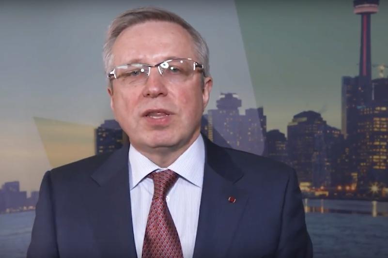 Kazakh Ambassador Zhigalov wishes Canada Happy 150th Birthday