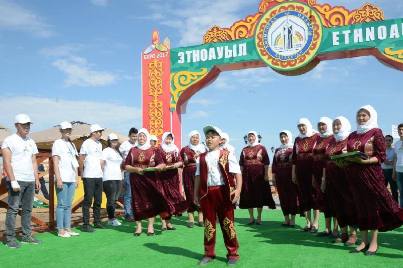 800-ге жуық шетелдік турист Қызылордадағы этноауылда болды