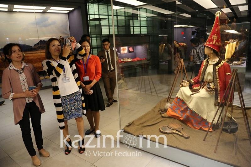 Ұлттық музейде Сақ тайпасының алтын бұйымдары таныстырылды