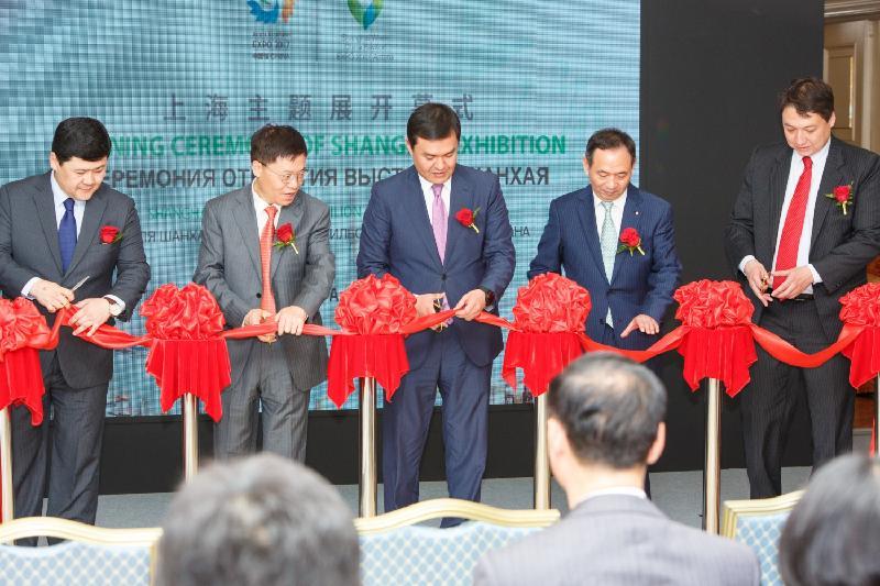 Астанада Шанхайдың алпауыт кәсіпорындарының көрмесі өтуде