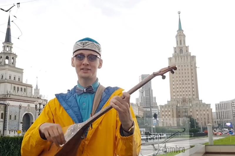 Астана күні: Орыс тілді суырып салма ақын Мәскеу төрінен ерекше құттықтау жолдады