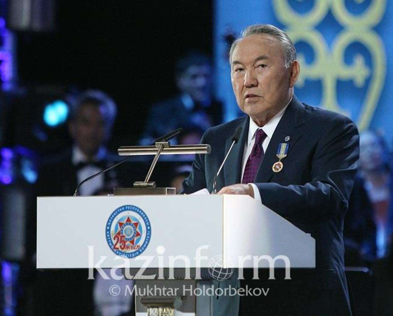 UQK kórinbeıtin maıdanda elimiz úshin abyroıly jumys atqarýda - Nursultan Nazarbaev