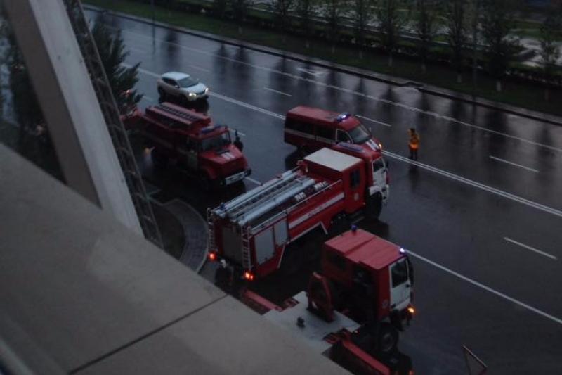 Двое детей погибли при пожаре в ЖК «Хайвил» в Астане