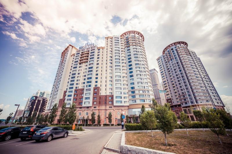 Астанадағы Хайвил кешенінің 6-қабаттынан түтін шықты