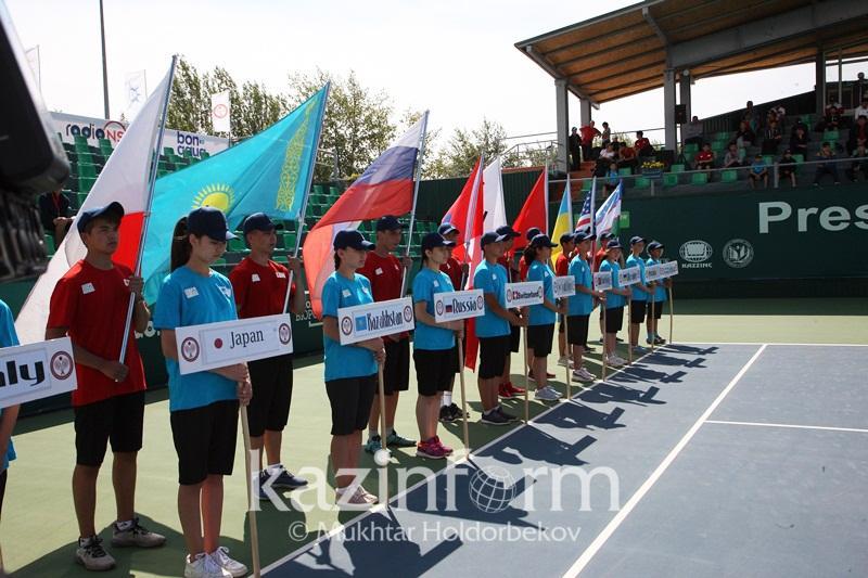 В Астане стартовал Кубок Президента-2017 по теннису