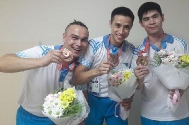 Казахстан завоевал «бронзу» Сурдлимпийских игр в настольном теннисе