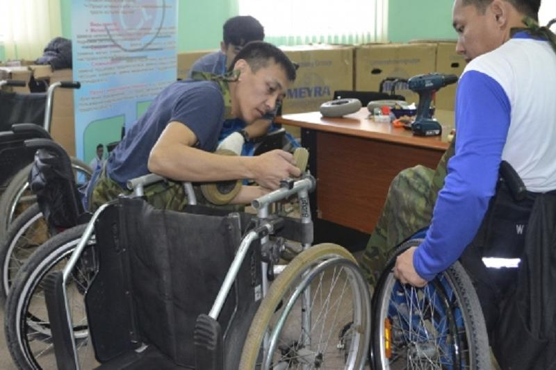 Wheelchair repair & maintenance center operates in Astana