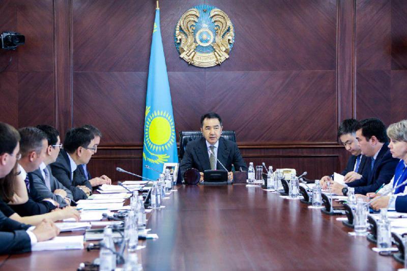 Kazakh PM holds meeting of Board of Directors of Baiterek Holding