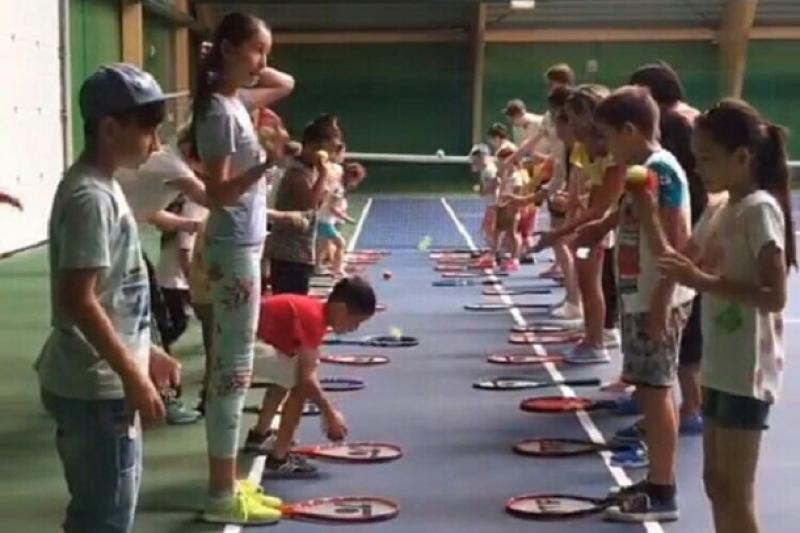 Новый теннисный центр в Атырау приступил к работе
