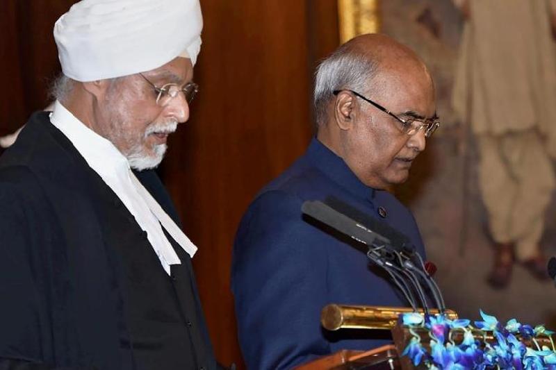 Президент Индии официально вступил в должность
