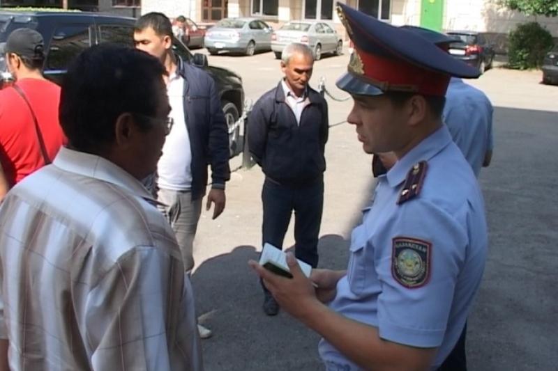 17 нелегалов из Узбекистана задержали в Северном Казахстане