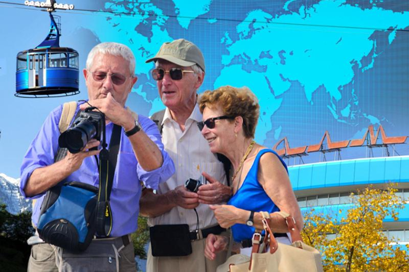 Number of foreign tourists in Almaty increases 1/4