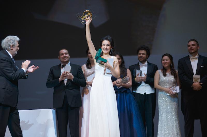 Мария Мудряк завоевала третье место на «Опералии» в Астане