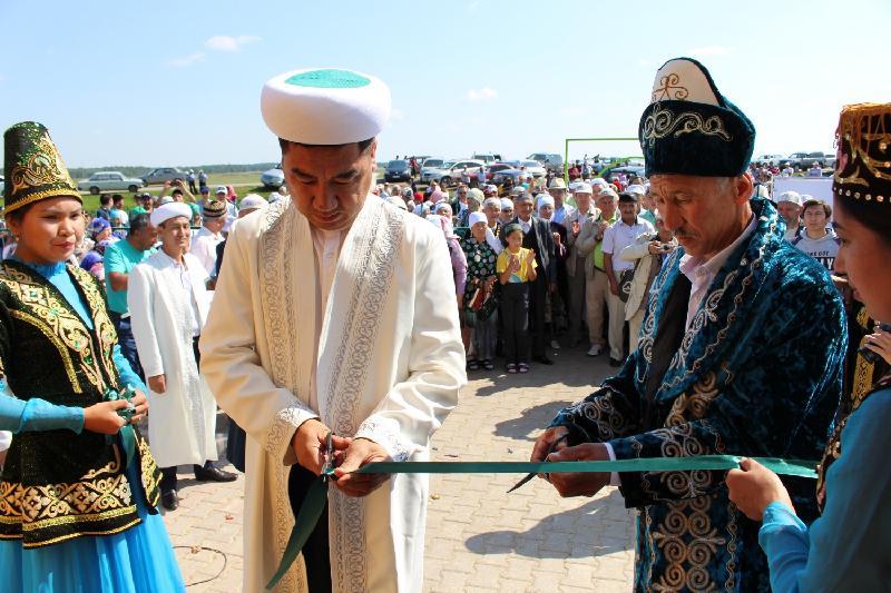 В одном из аулов Акмолинской области открыли мечеть