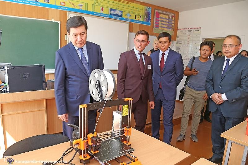 Тепловые пункты ради экономии денег ставят в школах Карагандинской области