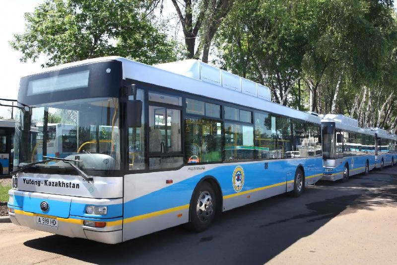 За пять дней водителей автобусов в Алматы оштрафовали на 700 тыс тенге
