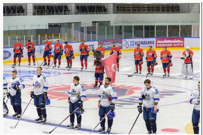 Астаналық хоккейшілер «Синегорья» кубогында топ жарды