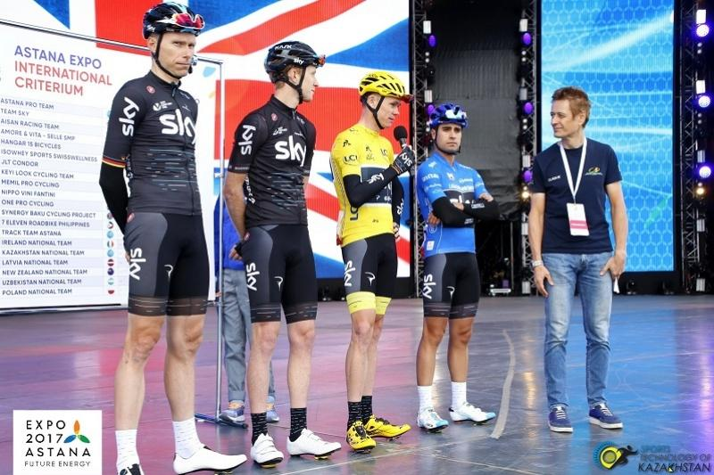 Chris Froome says Astana EXPO 2017 International Criterium was challenging