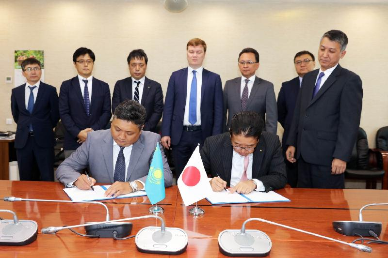 Kazakhstan Temir Zholy inks memo with Nippon Express Co. Ltd.