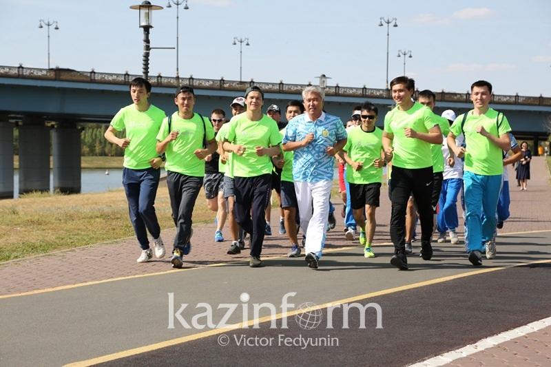 Арыстанбек Мухамедиулы готовит сюрприз на марафон ШОС