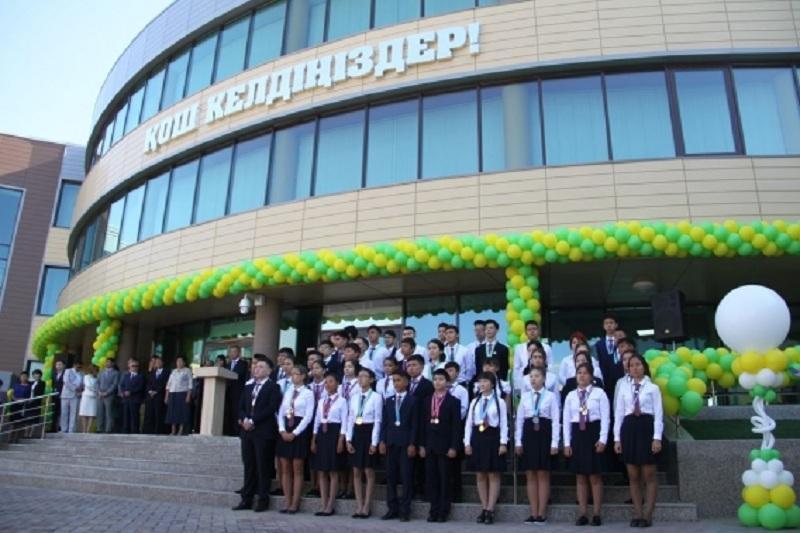 В Усть-Каменогорске открыли новое здание Назарбаев Интеллектуальной школы