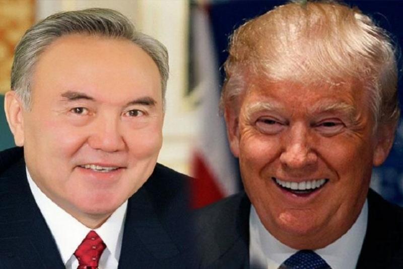 Donald Trump invites Nursultan Nazarbayev to visit Washington