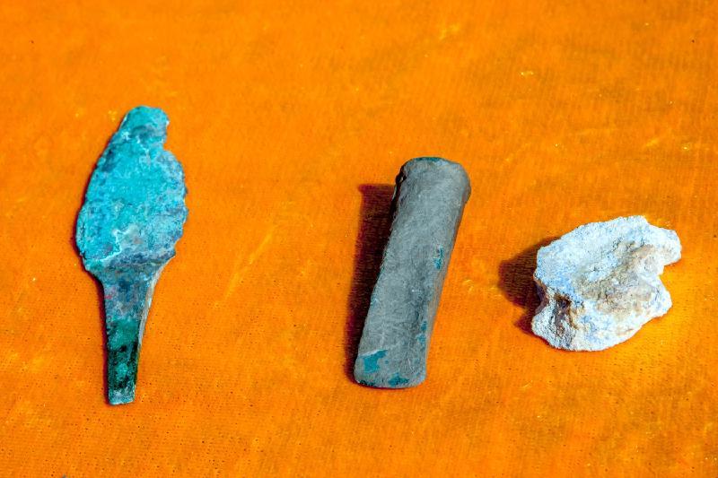 Захоронение мужчины раннесакского периода обнаружили в Восточно-Казахстанской области