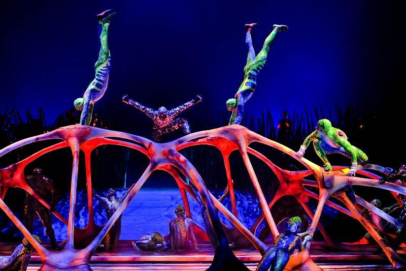 Дю Солей циркінің әртісі Қостанайда шеберлік сабағын өткізді