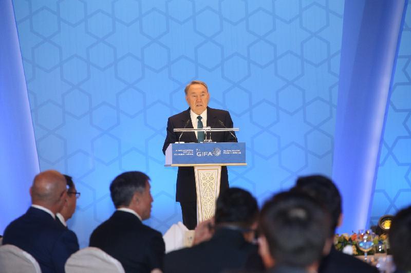 全球伊斯兰金融奖颁奖典礼在阿斯塔纳举行