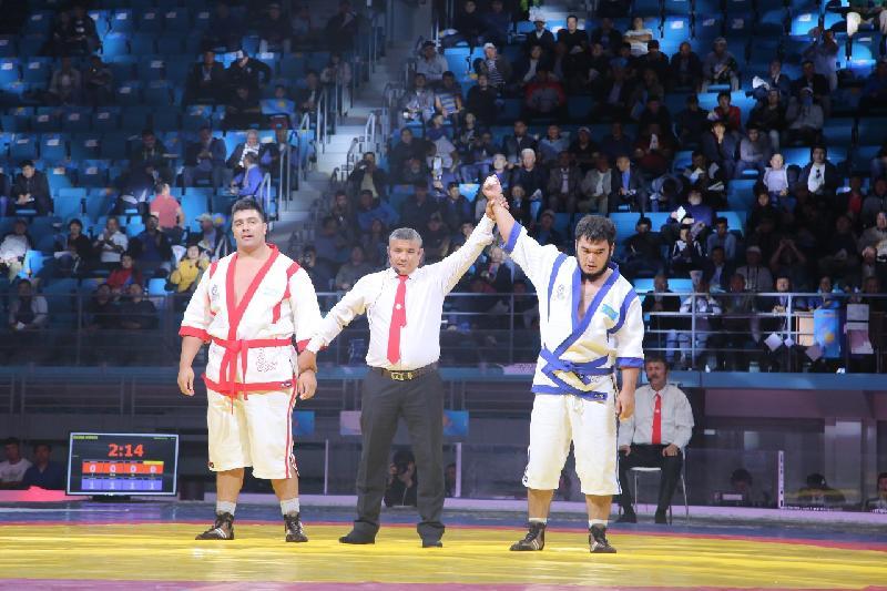 Айбат Сейтен Аргентина чемпионын тізе бүктірді