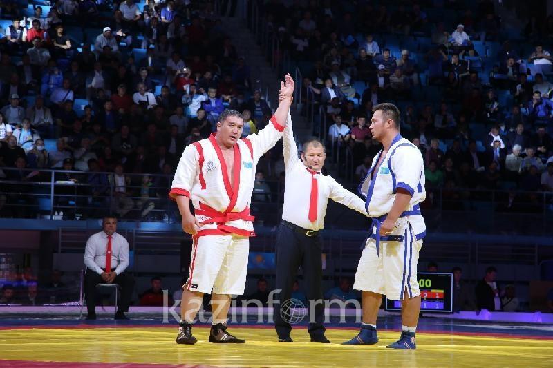 Нугымаров вышел победителем в казахстанском противостоянии на Alem Barysy