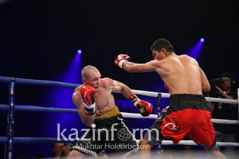 Мейрим Нурсултанов выкинул соперника за ринг