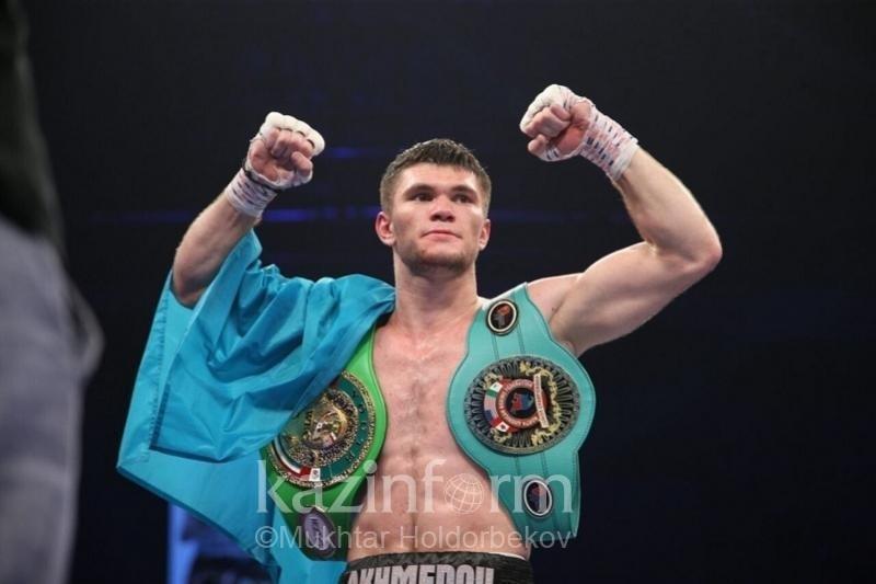 Али Ахмедов отправил соперника в нокаут в восьмом раунде