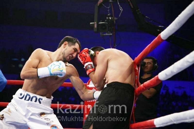 Айдос Ербосынулы нокаутировал аргентинского боксера в первом же раунде