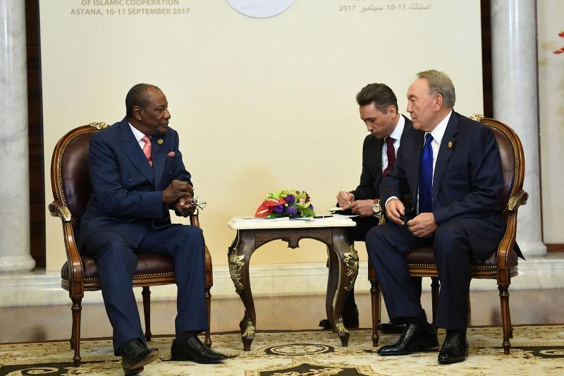 Нұрсұлтан Назарбаев Гвинеямен экономикалық қарым-қатынас жайын айтты
