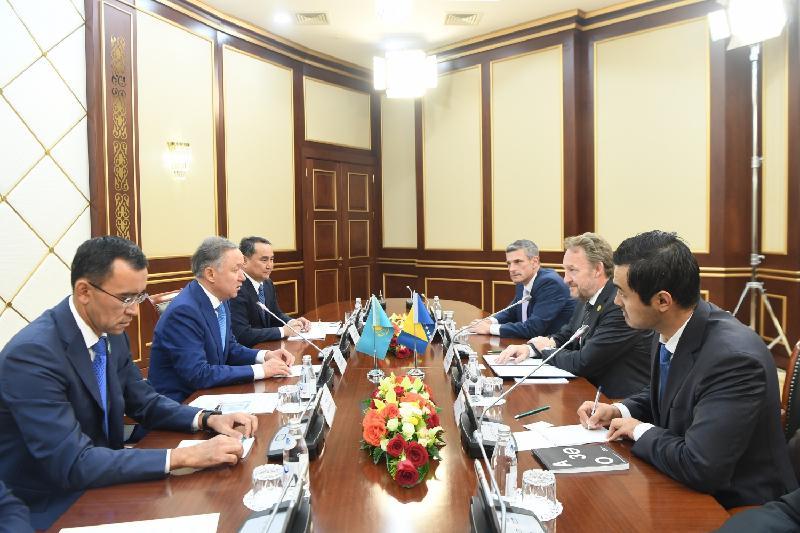 Нығматулин Босния және Герцеговина Президентімен кездесті