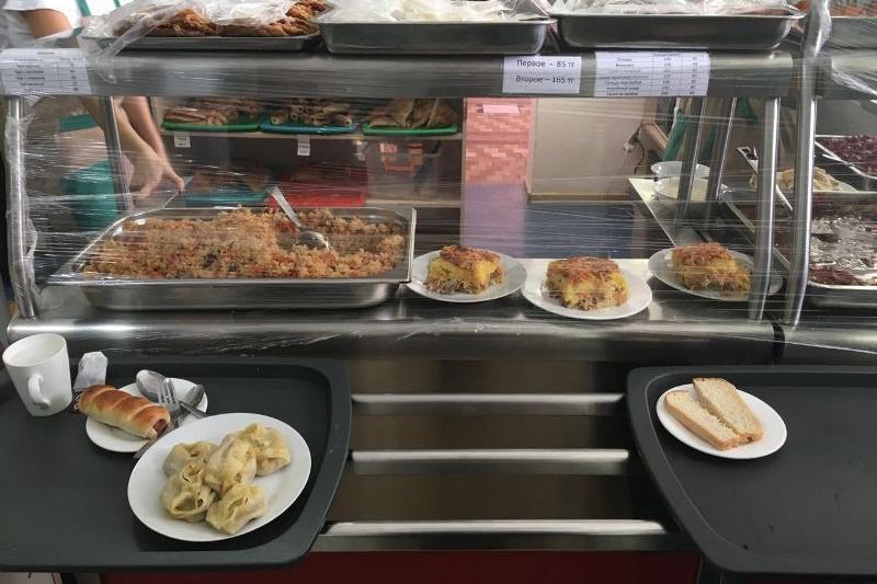 Школьные столовые проверят в Шымкенте