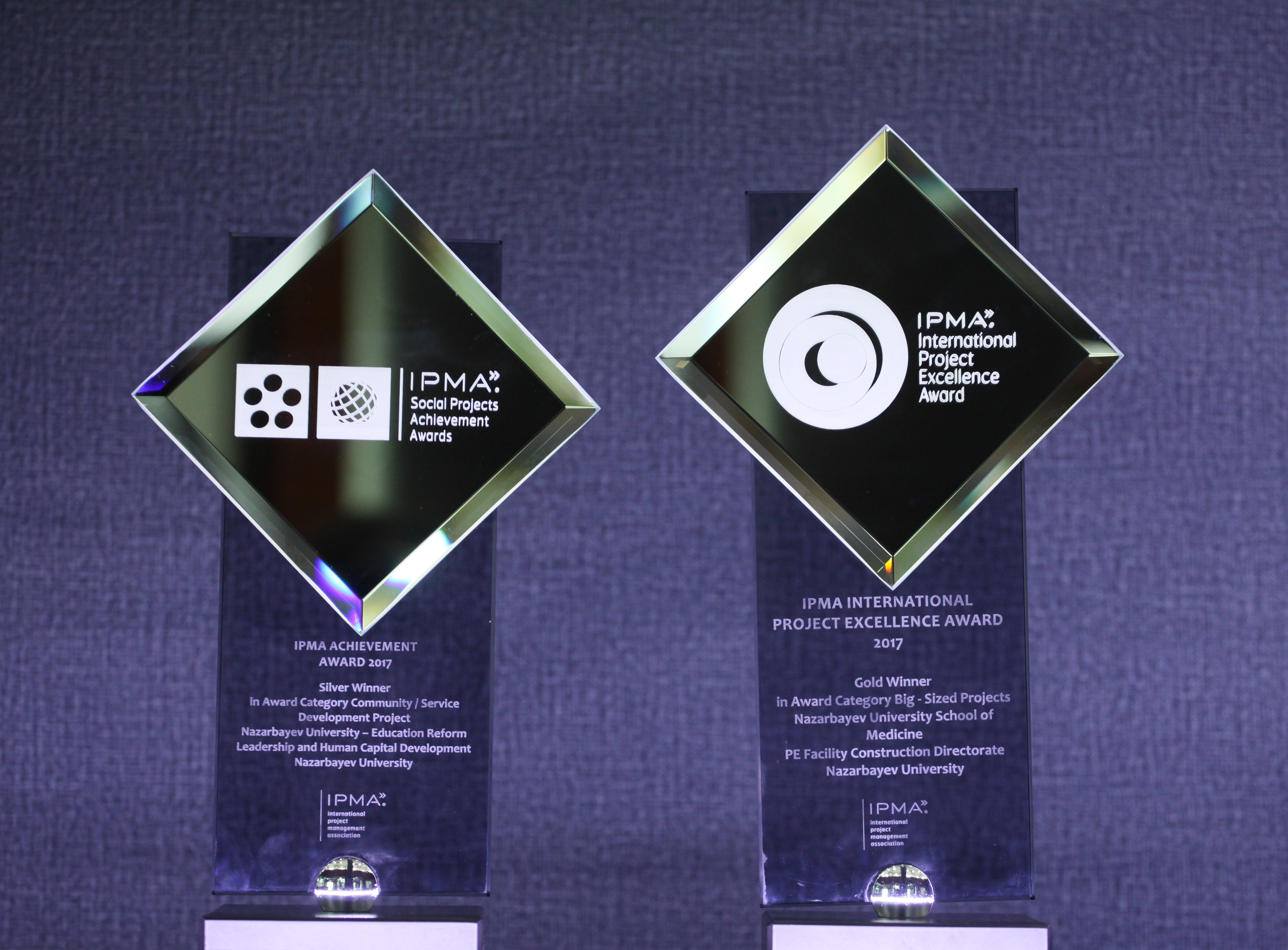 Назарбаев Университет завоевал «золото» и «серебро» в международном конкурсе проектов