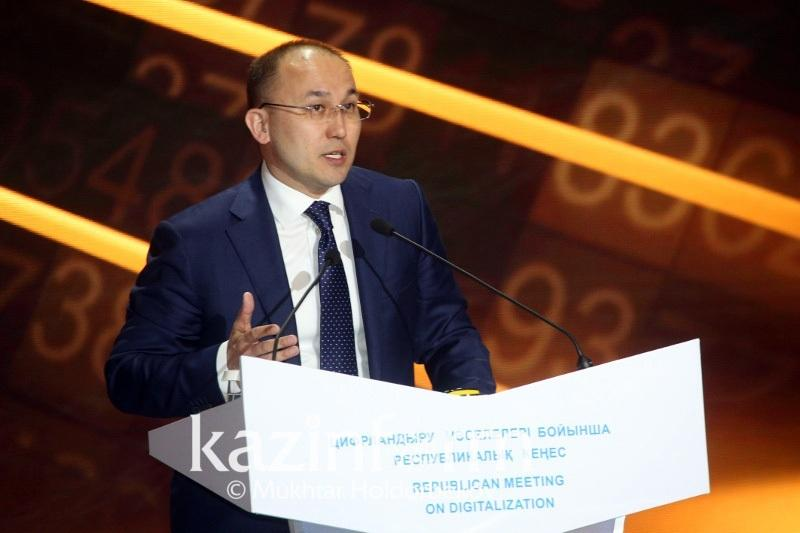 Kazakh information minister remarks on switching to Latin script