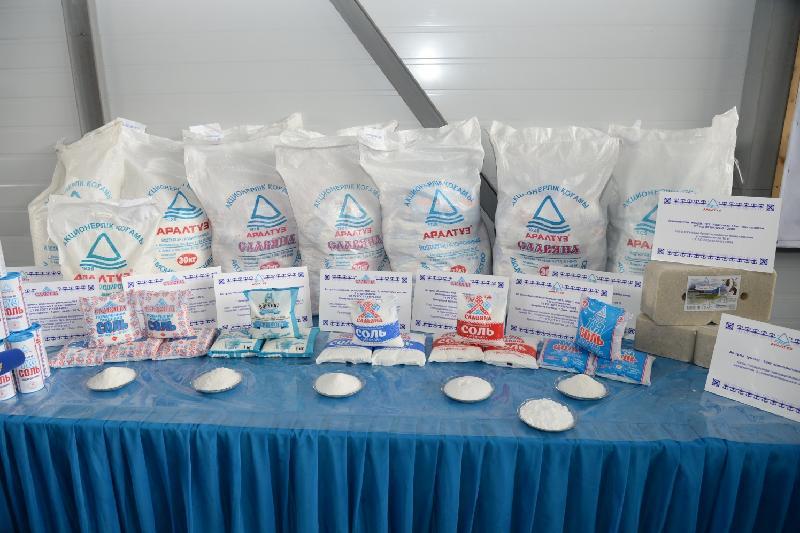 Казахстан начал экспорт аральской соли в Азербайджан