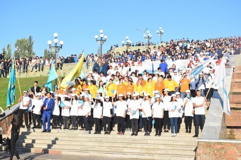 Павлодарские студенты запустили акцию «Cүйкті AlmaMater»