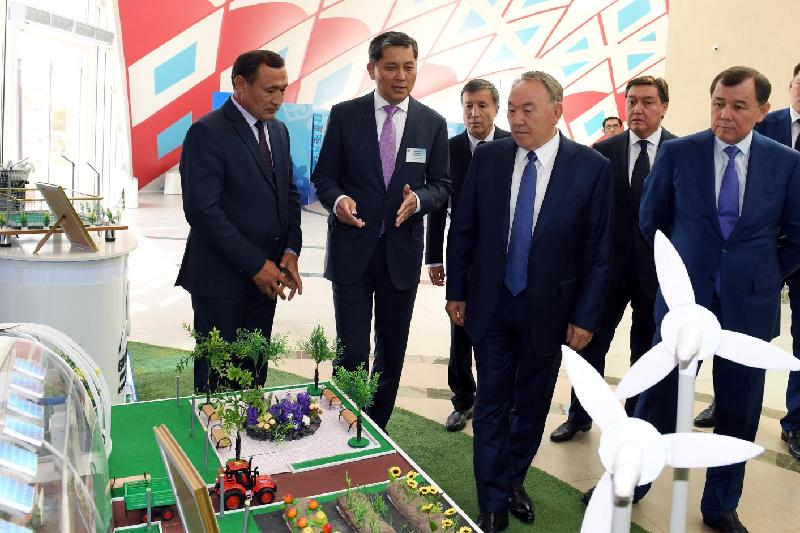 Kazakh President inspects new building of House of Friendship in Taraz
